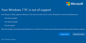 End of Windows 7:  Protect Yourself From Tech Support Scams!